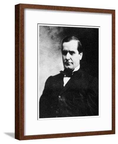 William Mckinley, 25th President of the United States, 19th Century-MATHEW B BRADY-Framed Art Print
