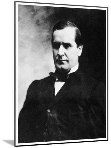 William Mckinley, 25th President of the United States, 19th Century-MATHEW B BRADY-Mounted Giclee Print
