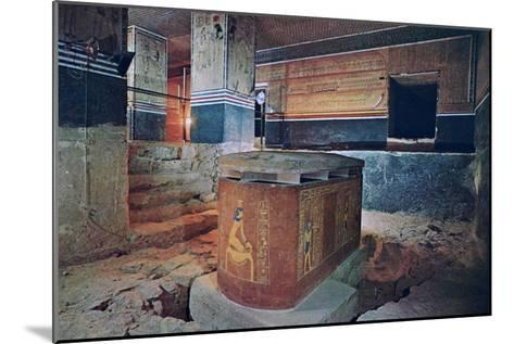 The Tomb of Amenhotep II, Valley of the Kings, Egypt--Mounted Giclee Print