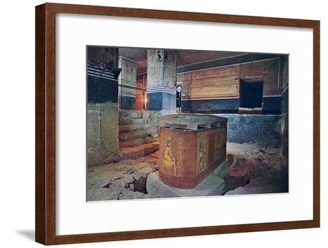 The Tomb of Amenhotep II, Valley of the Kings, Egypt--Framed Art Print