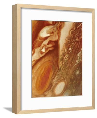 Great Red Spot on Jupiter, 1979--Framed Art Print