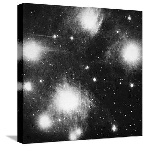 Constellation of the Pleiades (Seven Sister), 1908--Stretched Canvas Print
