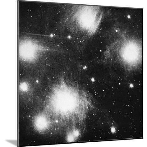 Constellation of the Pleiades (Seven Sister), 1908--Mounted Giclee Print