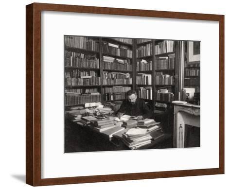 Gabriel Hanotaux, French Statesman, 1901--Framed Art Print