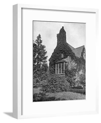 Sir Walter Raleigh's House, Youghal, County Cork, Ireland, 1924-1926- York & Son-Framed Art Print