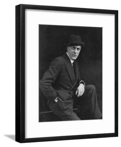 Sir George Alexander (1858-191), Theatrical Actor-Manager, 1911-1912-Alfred & Walery Ellis-Framed Art Print