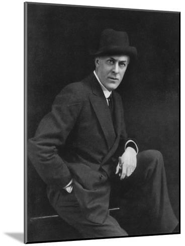 Sir George Alexander (1858-191), Theatrical Actor-Manager, 1911-1912-Alfred & Walery Ellis-Mounted Giclee Print