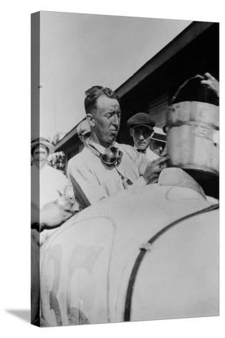 Jimmy Murphy, Winner of the Indianapolis 500, 1922--Stretched Canvas Print