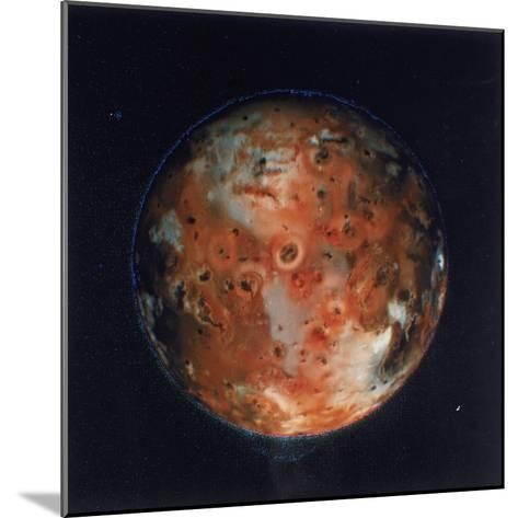 Full View of Io, One of the Moons of Jupiter, 1979--Mounted Giclee Print