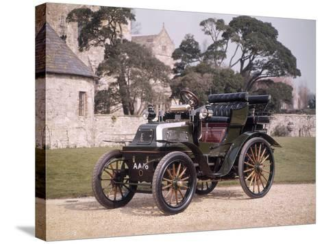 1899 Daimler Horseless Carriage--Stretched Canvas Print