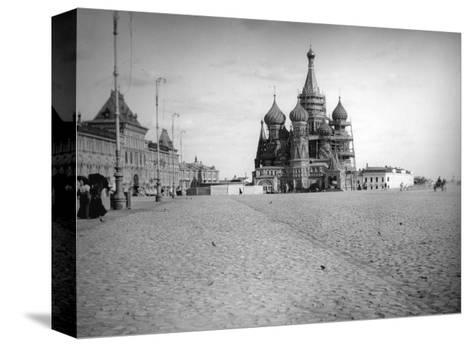 The Cathedral of Saint Basil the Blessed, Red Square, Moscow, Russia, 1900s--Stretched Canvas Print