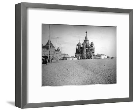 The Cathedral of Saint Basil the Blessed, Red Square, Moscow, Russia, 1900s--Framed Art Print