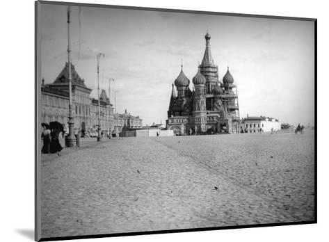 The Cathedral of Saint Basil the Blessed, Red Square, Moscow, Russia, 1900s--Mounted Giclee Print