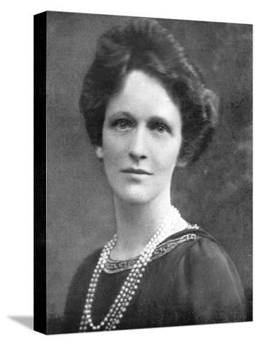 Lady Astor (1879-196), American-Born British Politician, 1926--Stretched Canvas Print