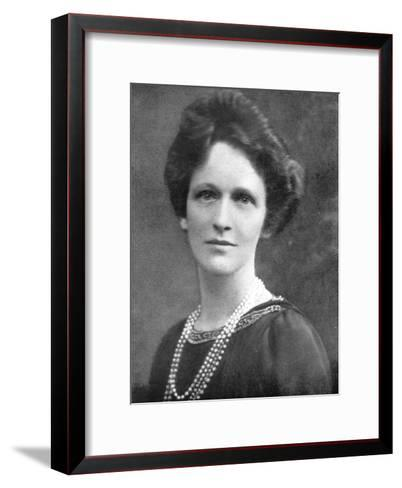 Lady Astor (1879-196), American-Born British Politician, 1926--Framed Art Print