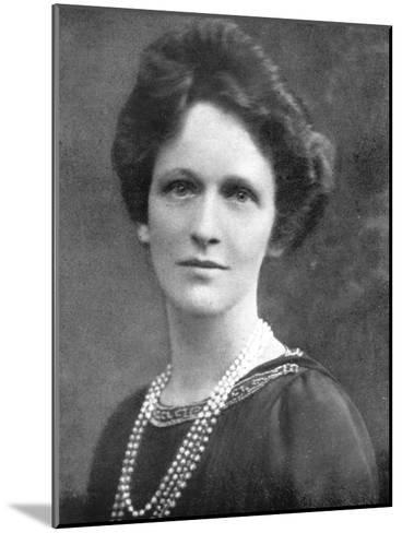Lady Astor (1879-196), American-Born British Politician, 1926--Mounted Giclee Print