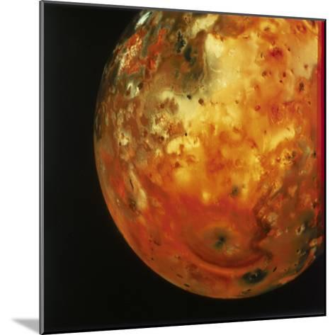 Nearly Full View of Io, One of the Moons of Jupiter, 1979--Mounted Giclee Print