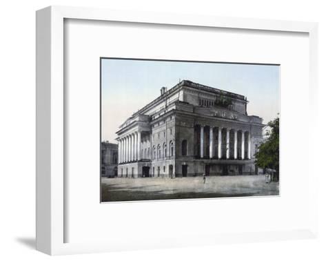 The Alexandrinsky Theatre, St Petersburg, Russia, C1890-C1905--Framed Art Print