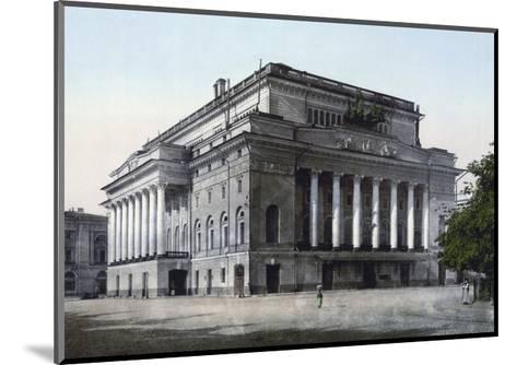 The Alexandrinsky Theatre, St Petersburg, Russia, C1890-C1905--Mounted Giclee Print