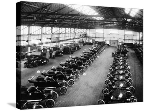 Interior of the Ford Works, Trafford Park, Manchester, C1911-C1927--Stretched Canvas Print