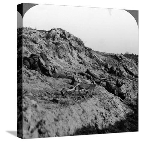 Dead Soldiers, Vimy Ridge, France, World War I, 1914-1918--Stretched Canvas Print