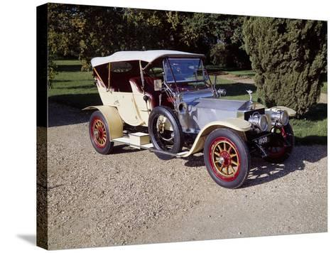 1909 Rolls-Royce Silver Ghost--Stretched Canvas Print