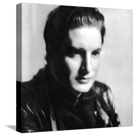Robert Donat, English Actor, 1934-1935--Stretched Canvas Print