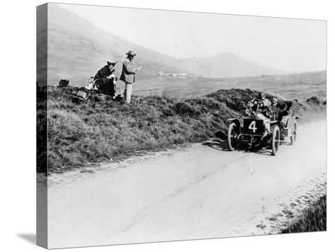 Charles Rolls on the Way to Winning the Isle of Man Tt Race in a 20 Hp Rolls-Royce, 1906--Stretched Canvas Print