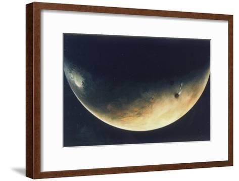View of Mars, August 1976--Framed Art Print