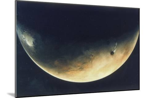 View of Mars, August 1976--Mounted Giclee Print