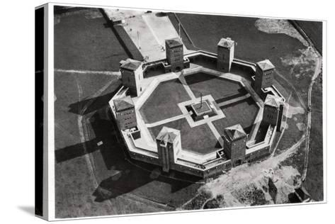 Aerial View of the Tannenberg Memorial, Near Olsztynek, Poland, from a Zeppelin, C1931--Stretched Canvas Print