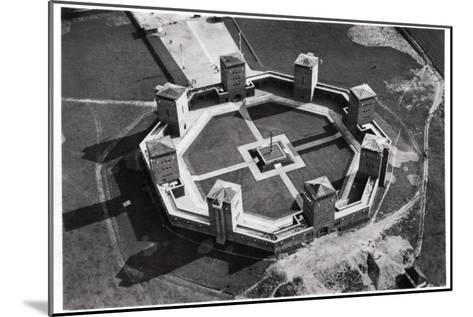 Aerial View of the Tannenberg Memorial, Near Olsztynek, Poland, from a Zeppelin, C1931--Mounted Giclee Print