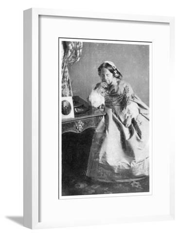 The Duchess of Berry, C1850-1870--Framed Art Print