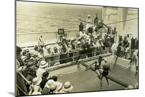Swimming Pool on Board the Rml 'Atlantis, C1929-C1939--Mounted Giclee Print