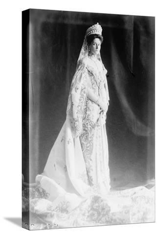 Tsarina Alexandra of Russia, Early 20th Century--Stretched Canvas Print