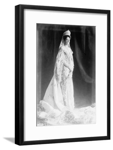 Tsarina Alexandra of Russia, Early 20th Century--Framed Art Print