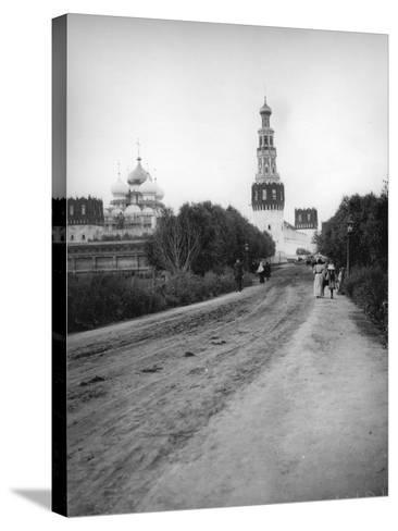 The New Maiden's (Novodevich) Convent, Moscow, Russia, 1900s--Stretched Canvas Print