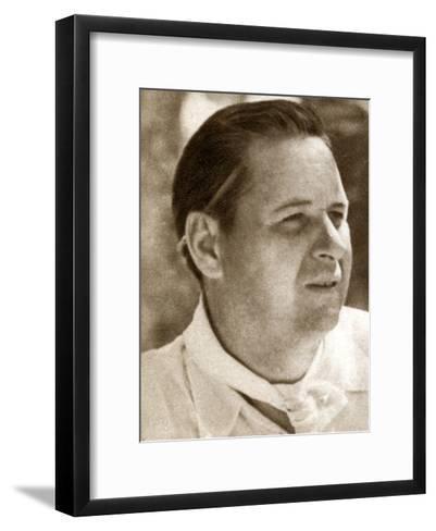 Richard Boleslawski, Polish Film Director and Actor, 1933--Framed Art Print