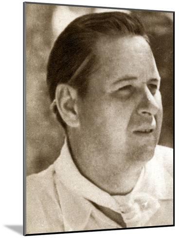 Richard Boleslawski, Polish Film Director and Actor, 1933--Mounted Giclee Print