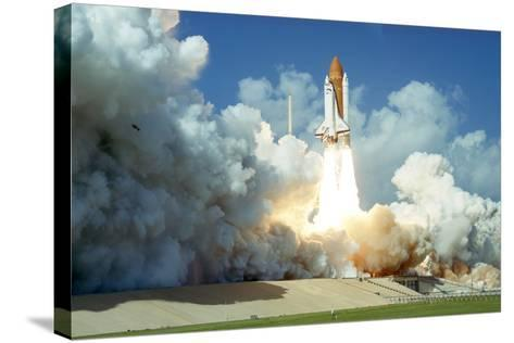 Launch of Space Shuttle Challenger from Kennedy Space Center, Florida, USA, 1985--Stretched Canvas Print