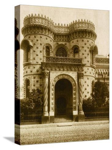 The Morozov House, Vozdvizhenka Street, Moscow, Russia, Early 20th Century--Stretched Canvas Print