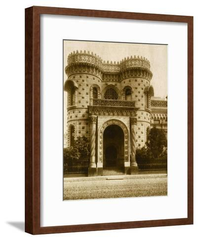 The Morozov House, Vozdvizhenka Street, Moscow, Russia, Early 20th Century--Framed Art Print