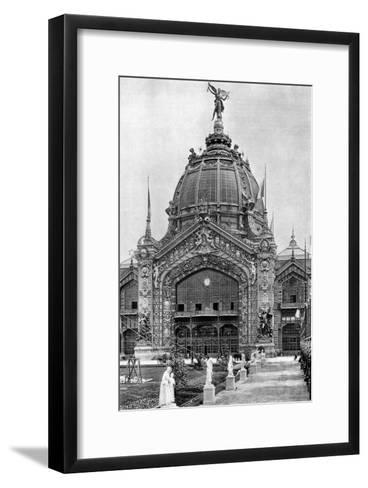 The Central Dome, Universal Exposition, Paris, 1889--Framed Art Print