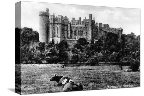 Arundel Castle, West Sussex, Early 20th Century- Francis & Co Frith-Stretched Canvas Print