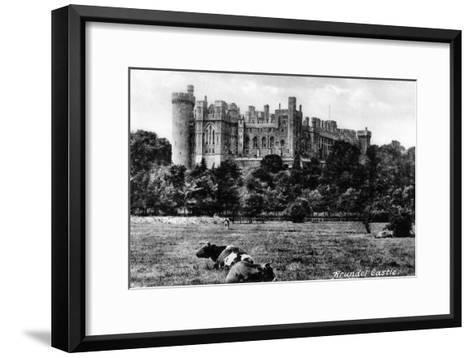 Arundel Castle, West Sussex, Early 20th Century- Francis & Co Frith-Framed Art Print