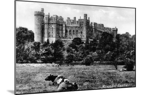 Arundel Castle, West Sussex, Early 20th Century- Francis & Co Frith-Mounted Giclee Print