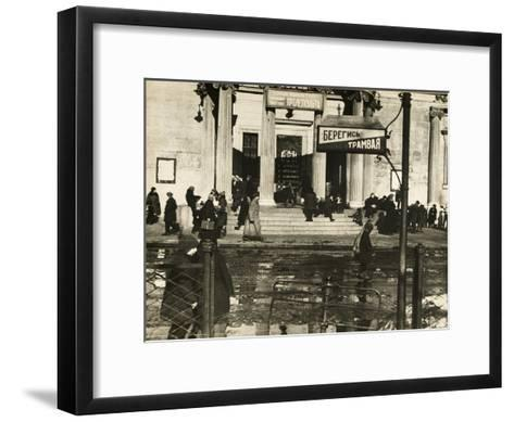 The First Proletcult Theatre, Moscow, USSR, 1920S--Framed Art Print