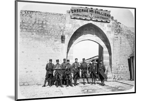 The French Foreign Legion, Syria, 20th Century--Mounted Giclee Print