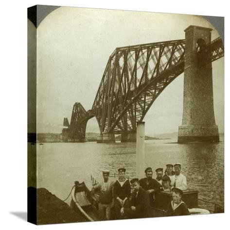 The Forth Bridge, Scotland--Stretched Canvas Print