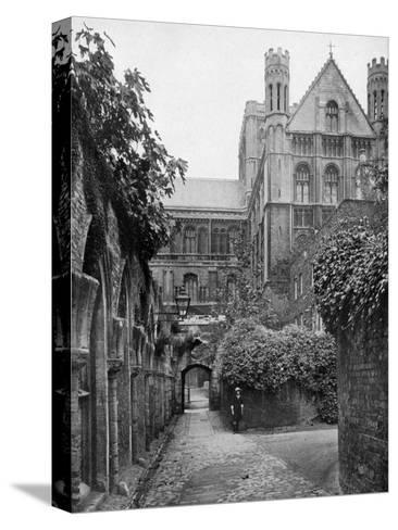 The Steps, Peterborough Cathedral, Cambridgeshire, 1924-1926- Francis & Co Frith-Stretched Canvas Print